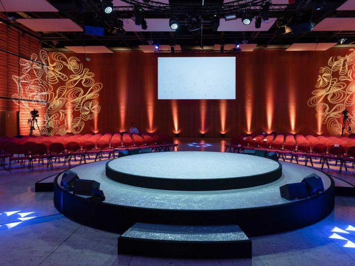 Salle plénière à Lyon - Centre des Congrès