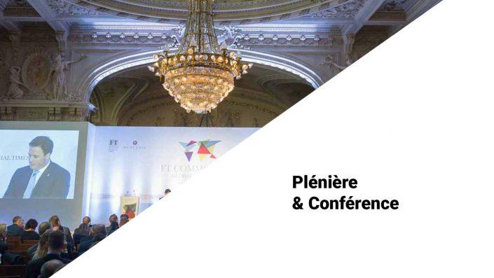 Plénière & Conference