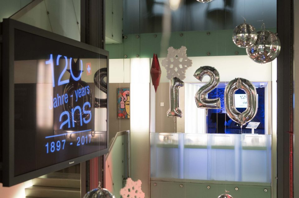 120 ans à la Cité du Temps Genève