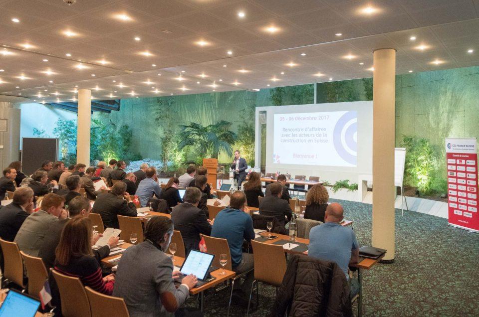 Rencontres Construction à Lausanne