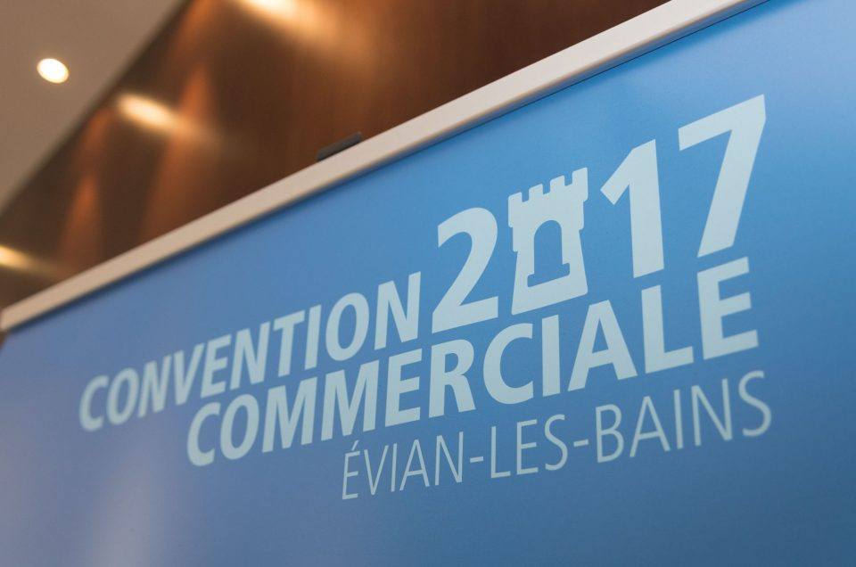 Convention à Evian les Bains