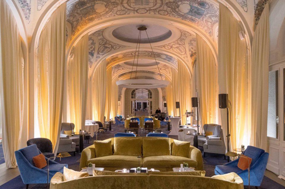 Cocktail à L'Evian Royal Resort