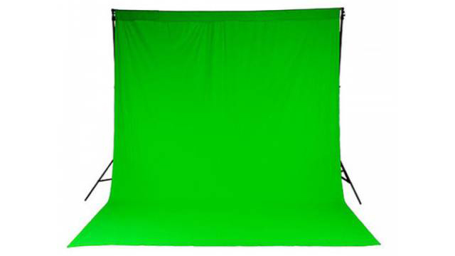 Studio photo fond vert evenement