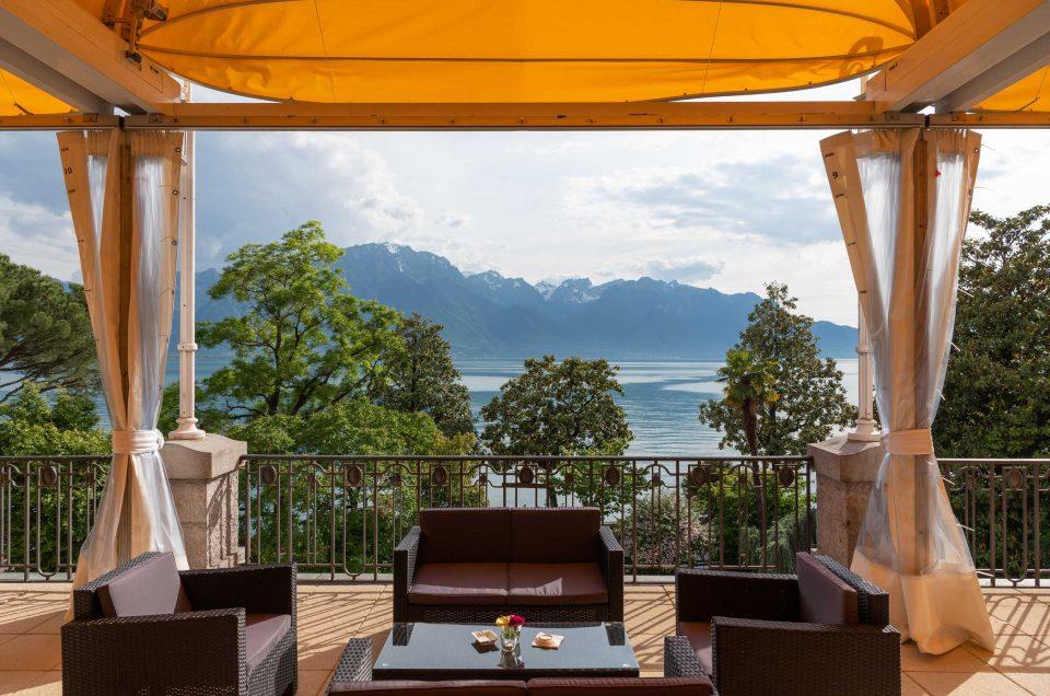 Soirée d'été au Montreux Palace