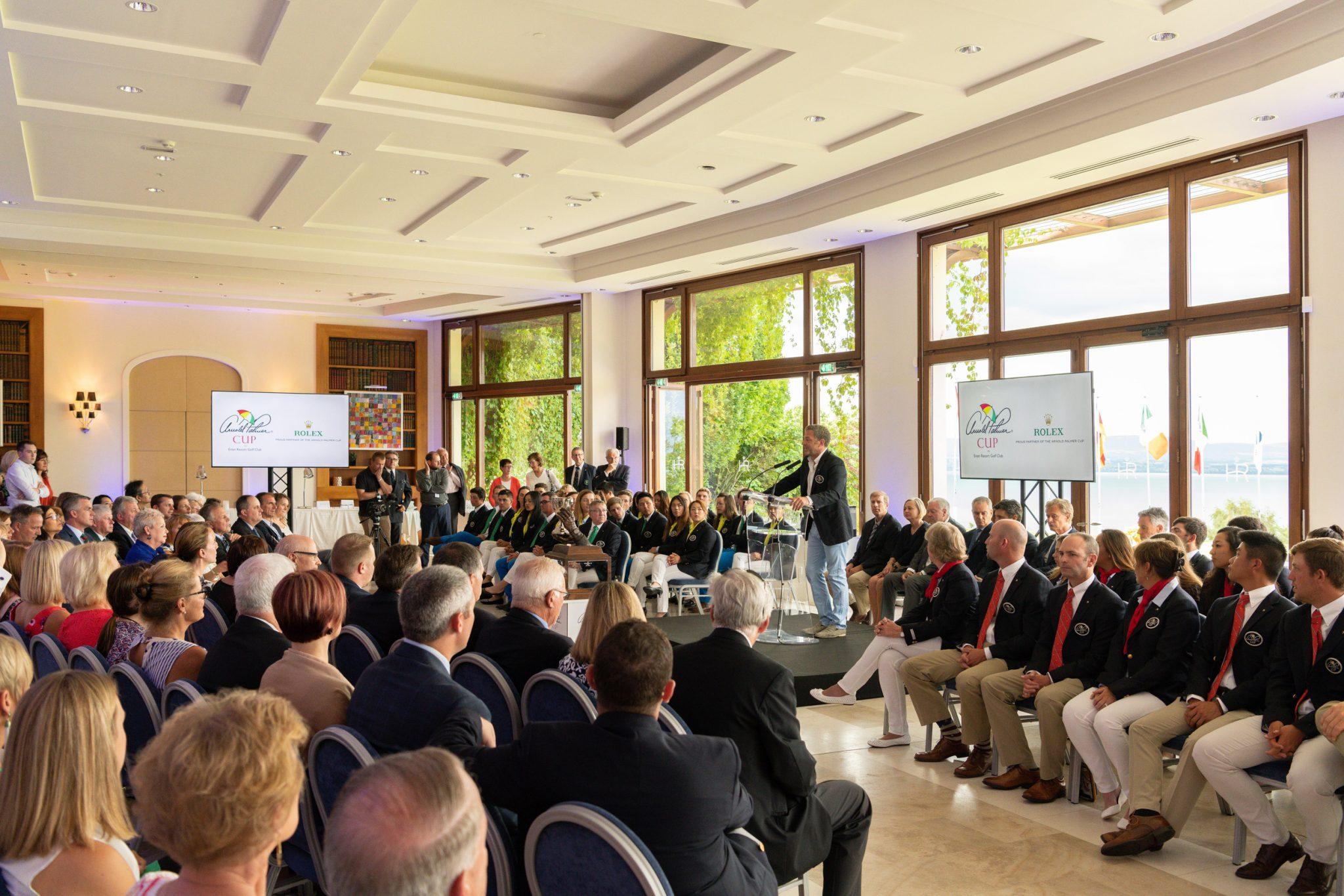 Arnold Palmer Cup Evian 2018