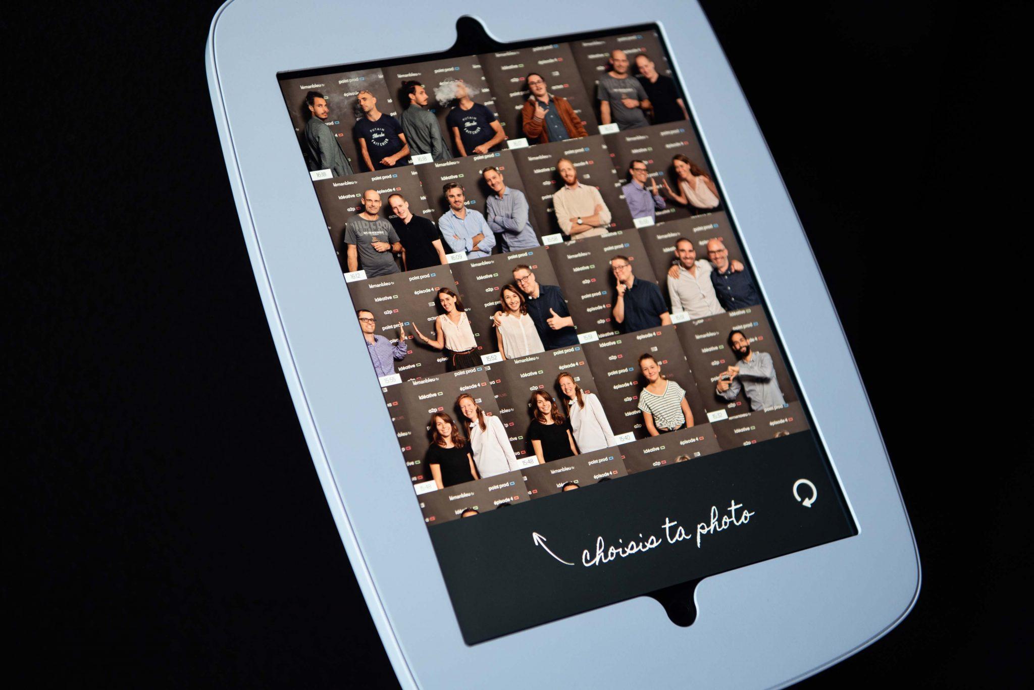 Photocall geneve iPad