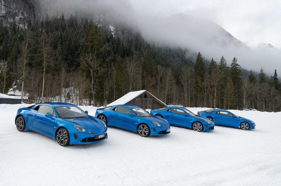 Journée d'essai Alpine à Gstaad