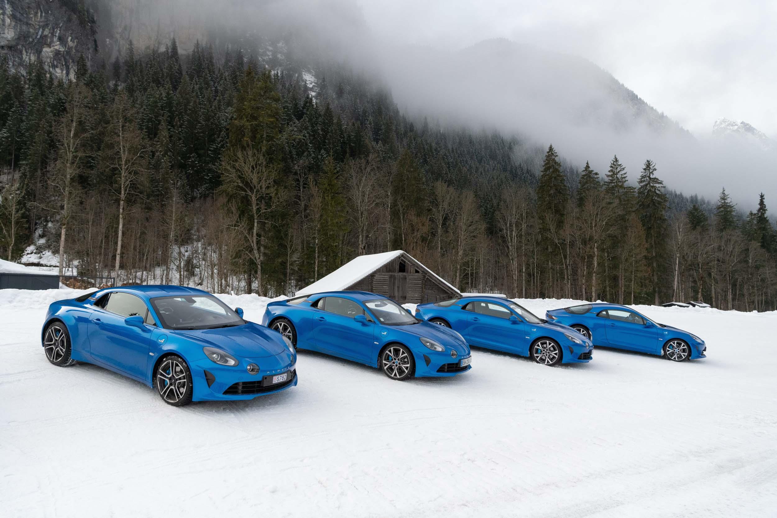 Démonstration sur glace Alpine