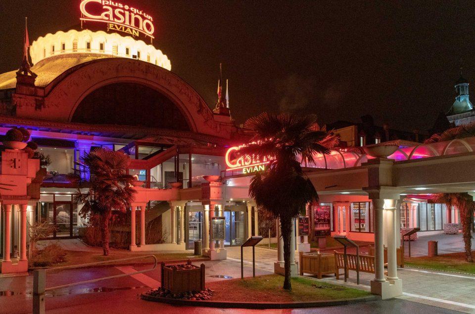 Soirée Casino des Sens à Evian