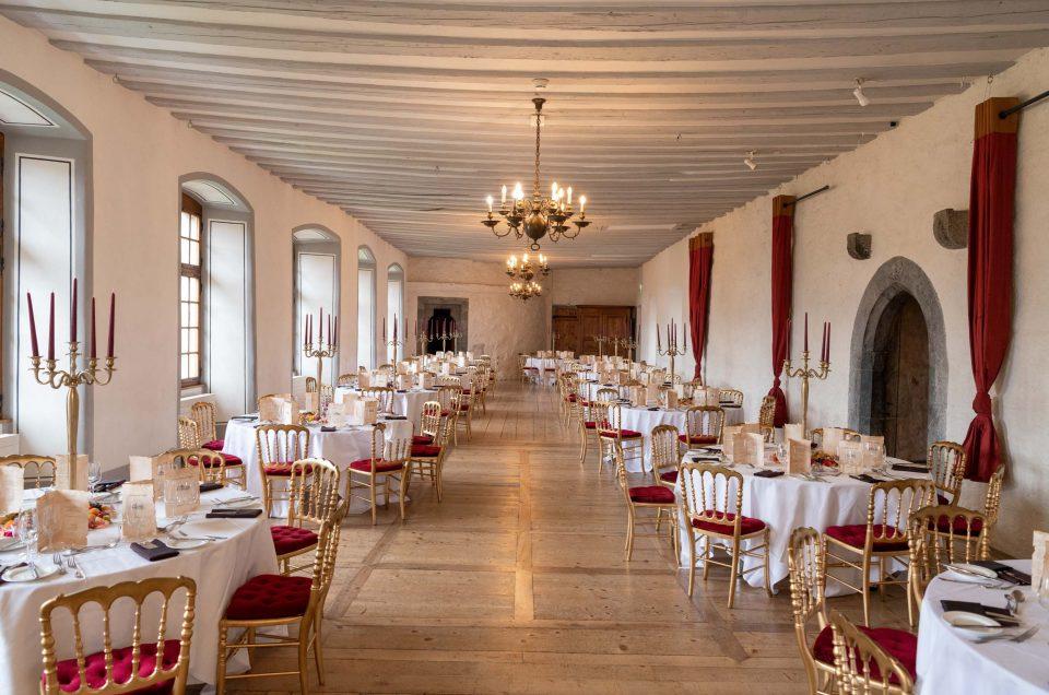 Diner de Gala au Château d'Aigle
