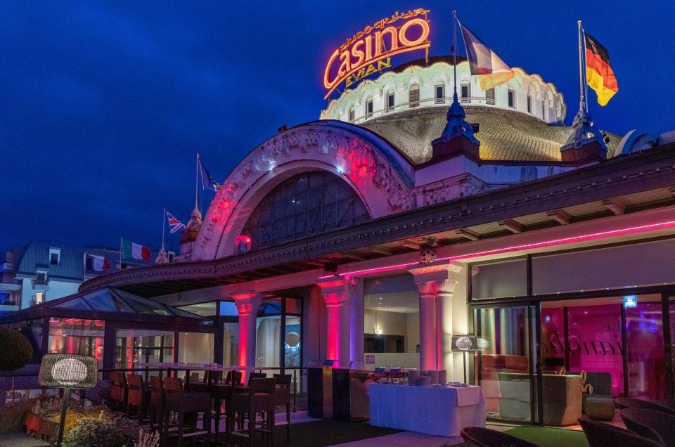 Soirée au Casino d'Evian