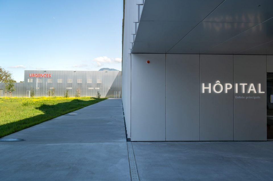 Hôpital Riviera Chablais : Visite Privée