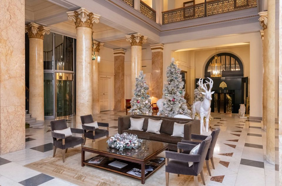 Diner de Noël au Beau Rivage Palace Lausanne