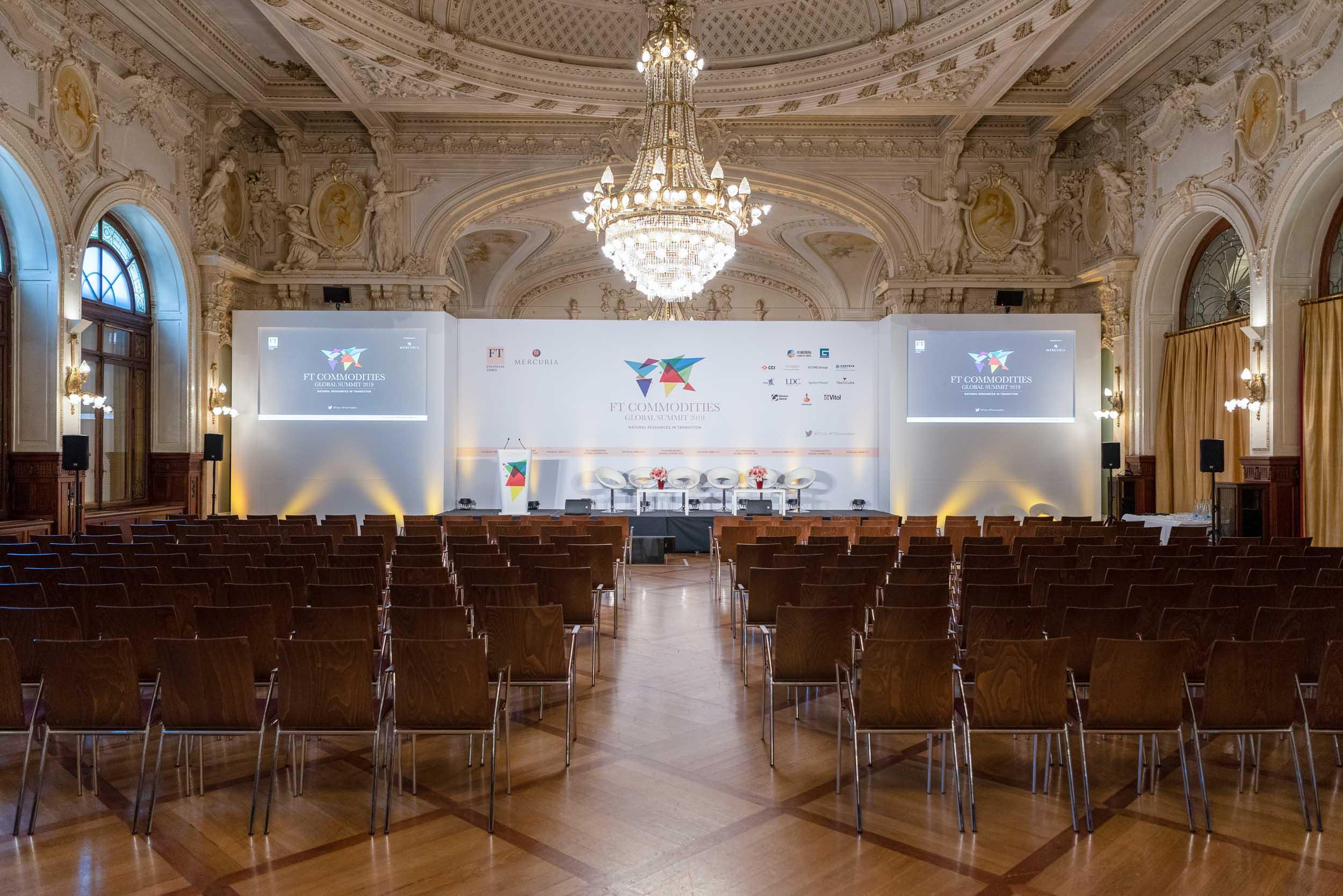 Sommet au Beau Rivage Palace Lausanne