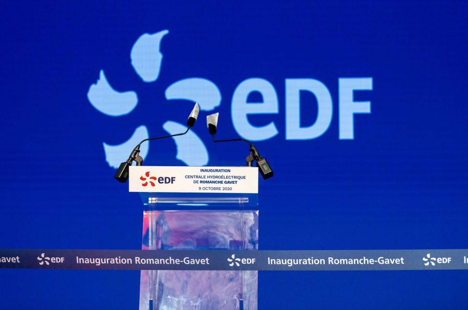 Inauguration Centrale EDF